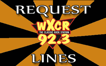 WXCR Classic Rock request lines