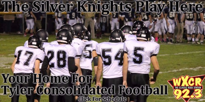 WXCR, High School, High School football, Tyler Consolidated, Silver Knights, Ritchie County, Bulldogs, Lite Rock 93R